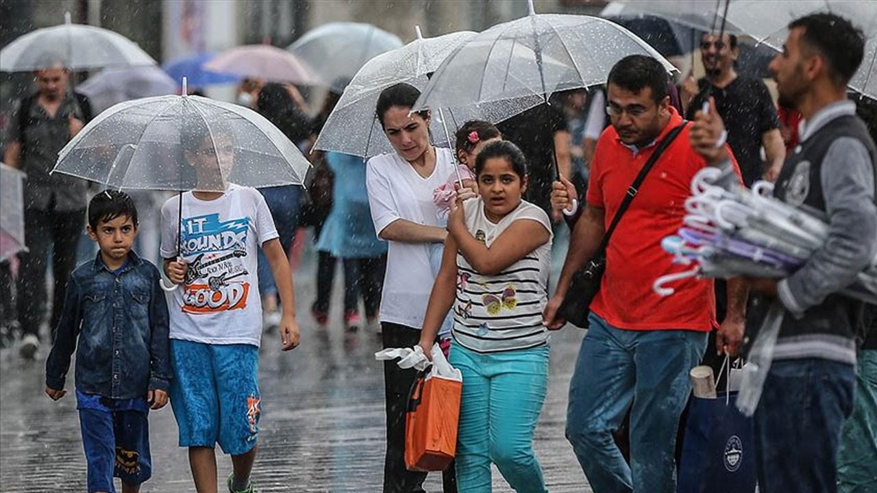 Meteoroloji bölge bölge uyardı: Yağışlı havaya dikkat!