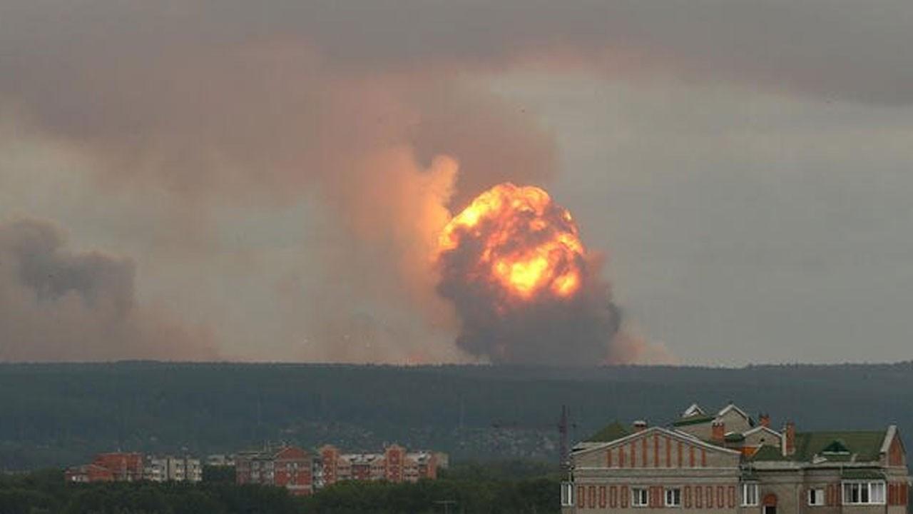 Rusya'da patlama: Yaralılar var