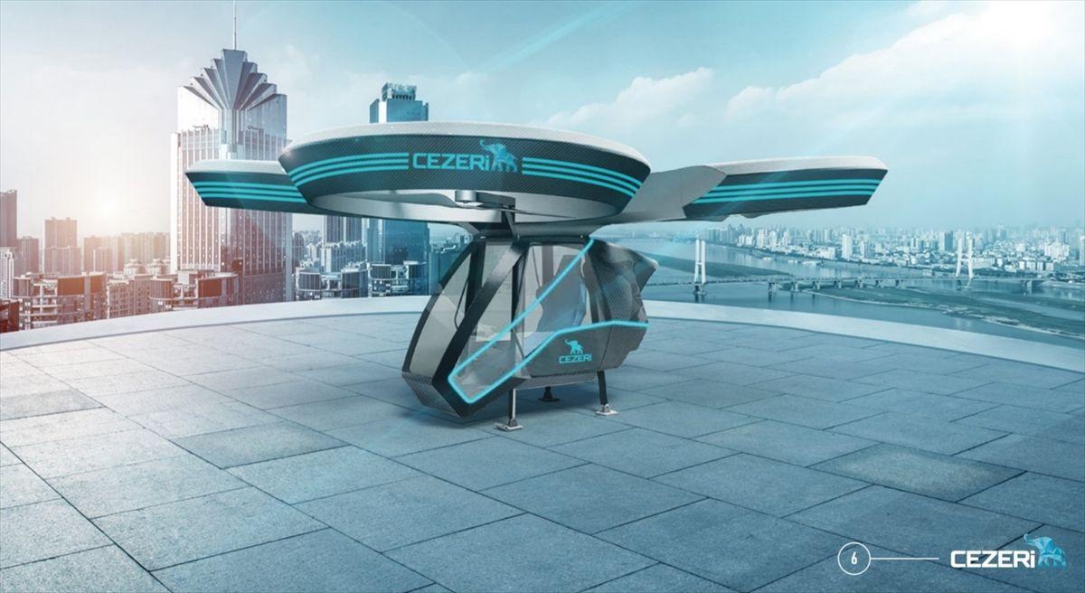 Türkiye'nin ilk milli uçan arabası olacak!.. 'CEZERİ', TEKNOFEST'te görücüye çıkacak! - Sayfa 3