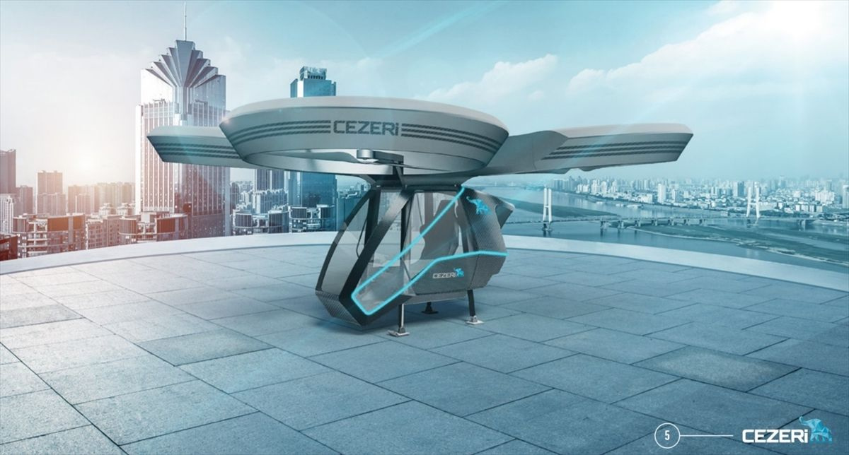 Türkiye'nin ilk milli uçan arabası olacak!.. 'CEZERİ', TEKNOFEST'te görücüye çıkacak! - Sayfa 4