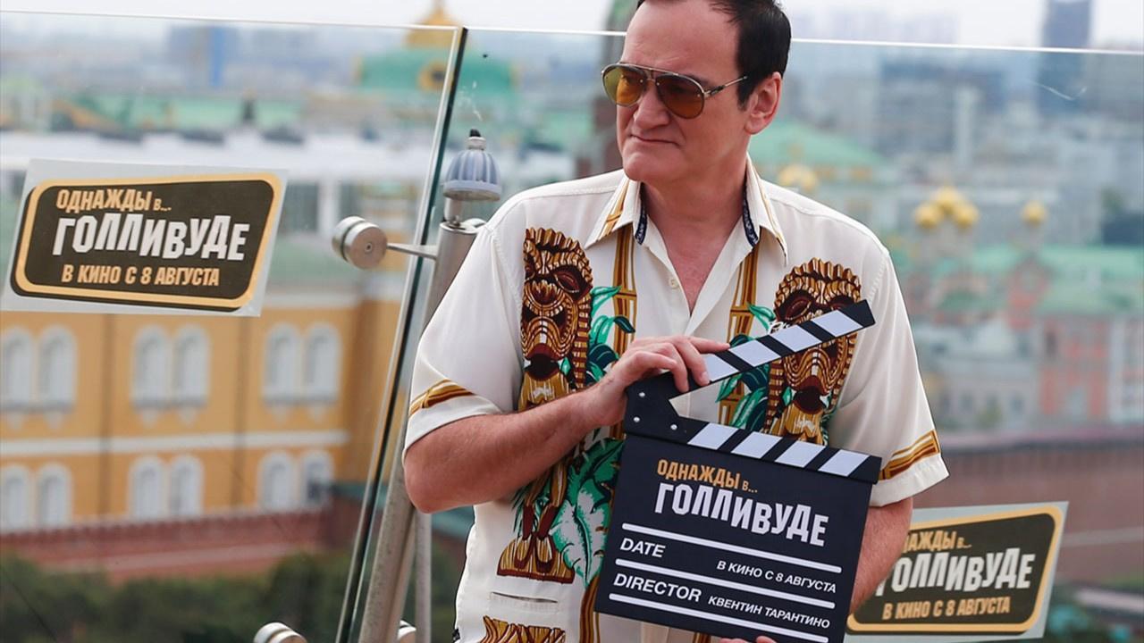 Quentin Tarantino Moskova'da