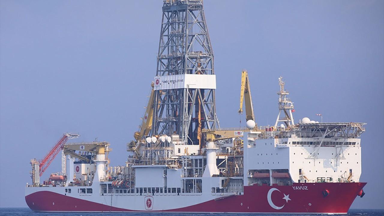 Yavuz gemisi, Doğu Akdeniz'de sondaja başladı