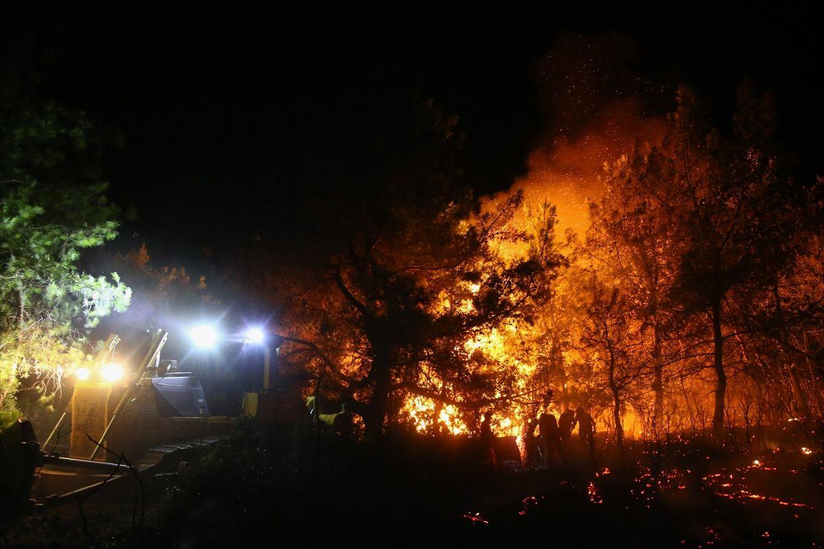 Antalya'nın Manavgat ilçesinde orman yangını - Sayfa 3