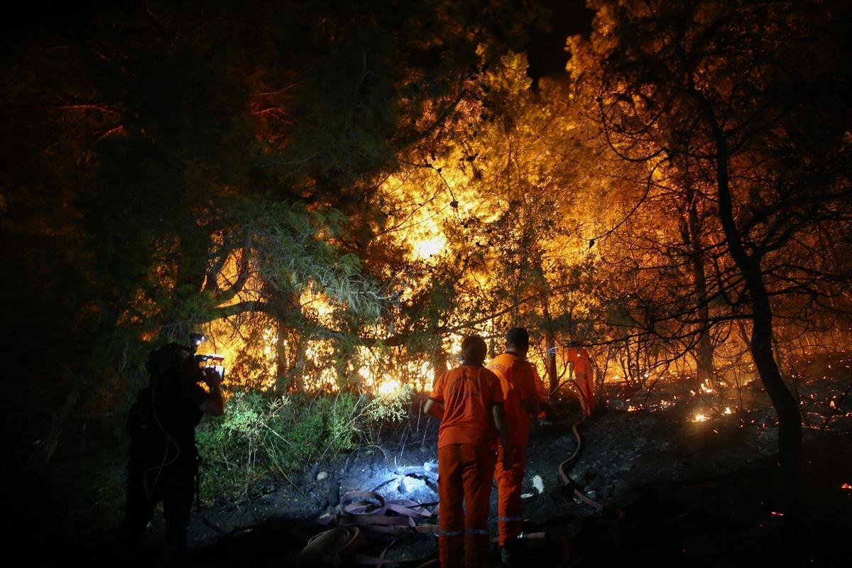 Antalya'nın Manavgat ilçesinde orman yangını - Sayfa 5