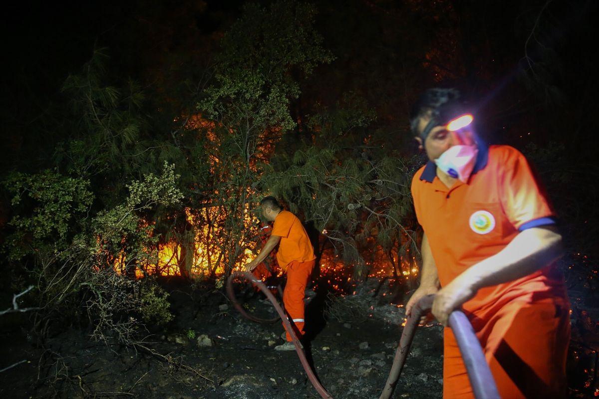 Antalya'nın Manavgat ilçesinde orman yangını - Sayfa 6