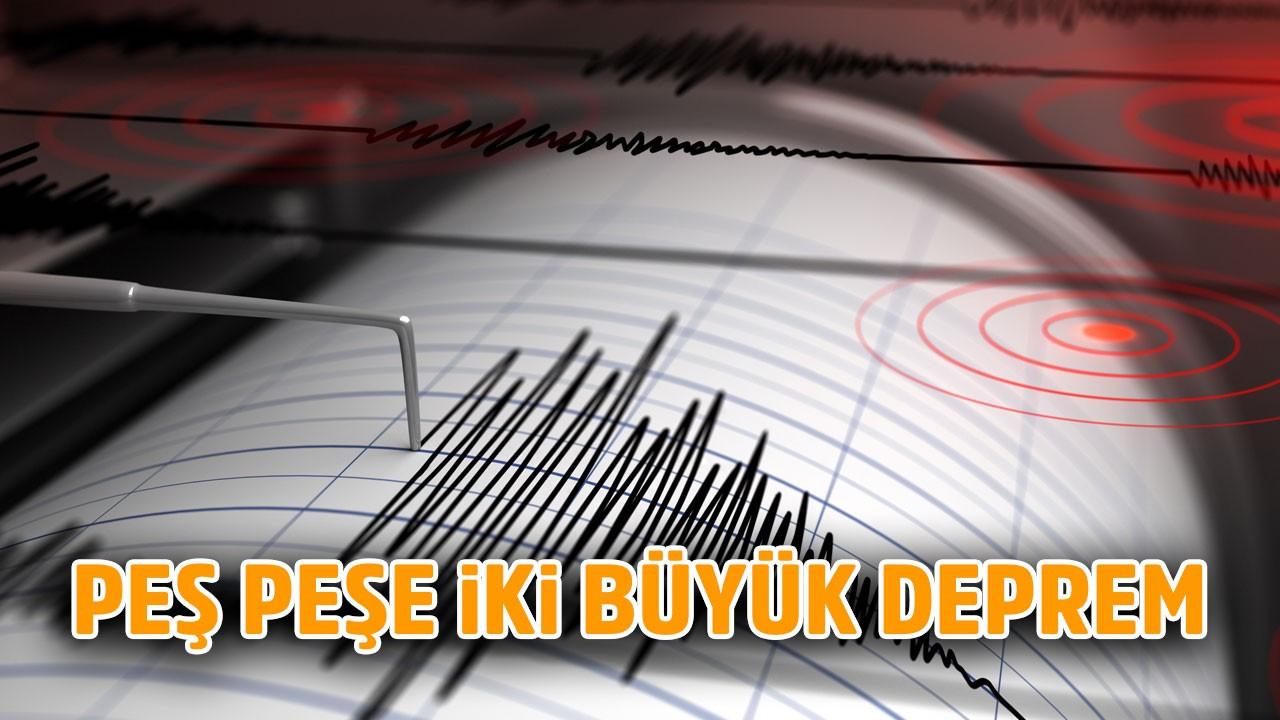 Denizli'de 6 büyüklüğünde deprem!