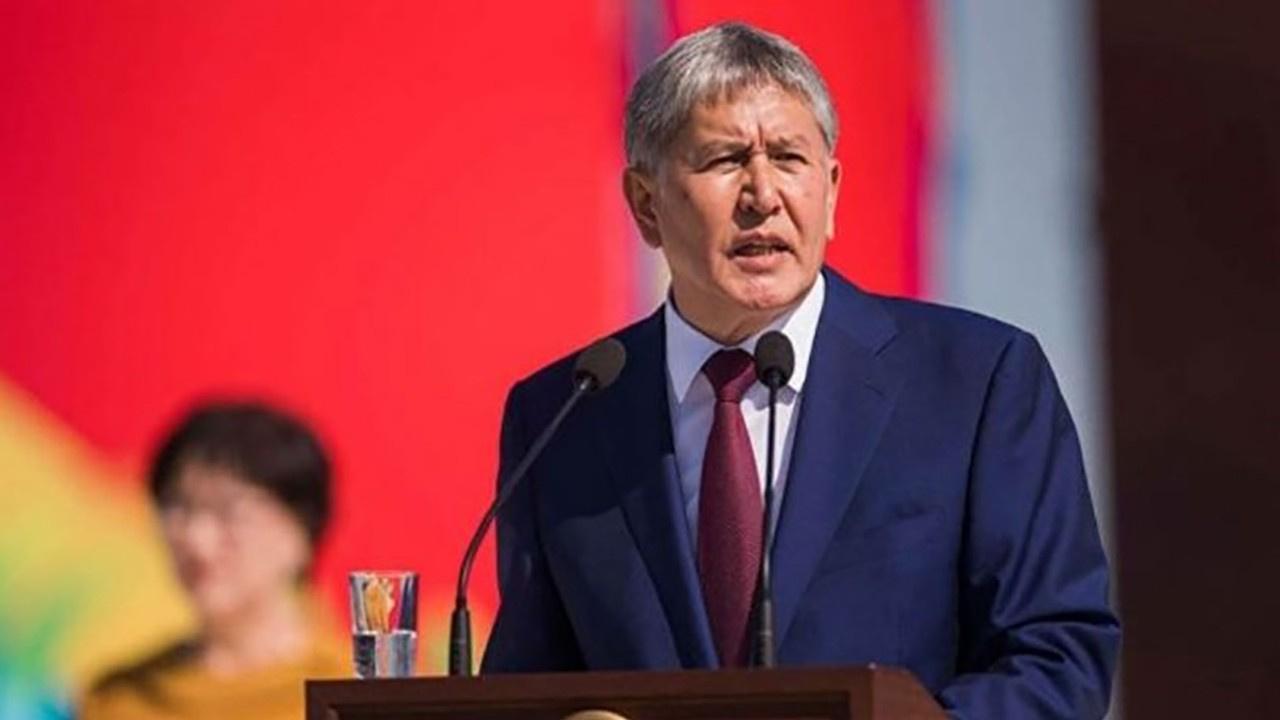 Kırgızistan eski Cumhurbaşkanı gözaltına alındı