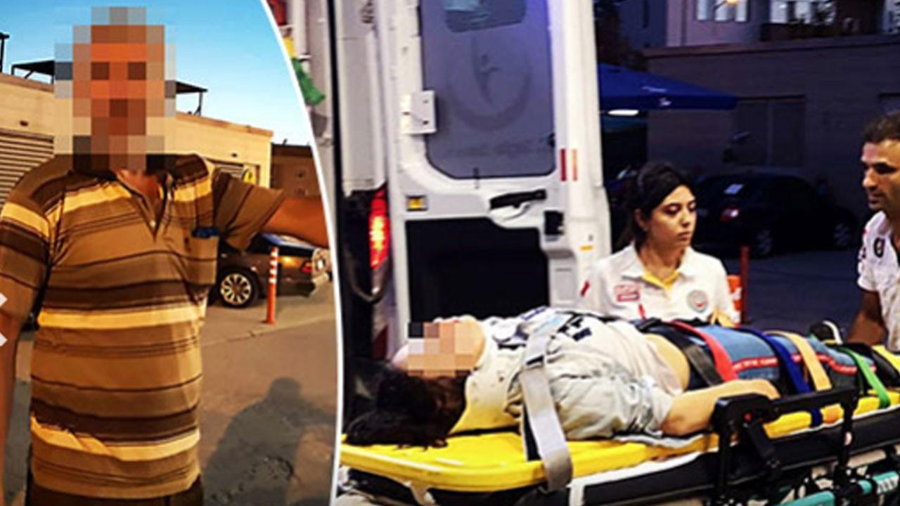 Kazadan kurtuldu, babası hastanelik etti!