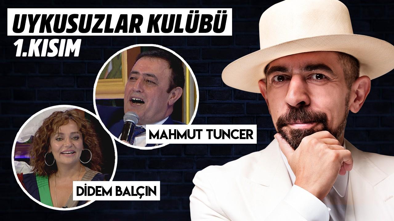 Okan Bayülgen ile Uykusuzlar Kulübü 1. Kısım 10 Ağustos 2019 -Mahmut Tuncer - Didem Balçın