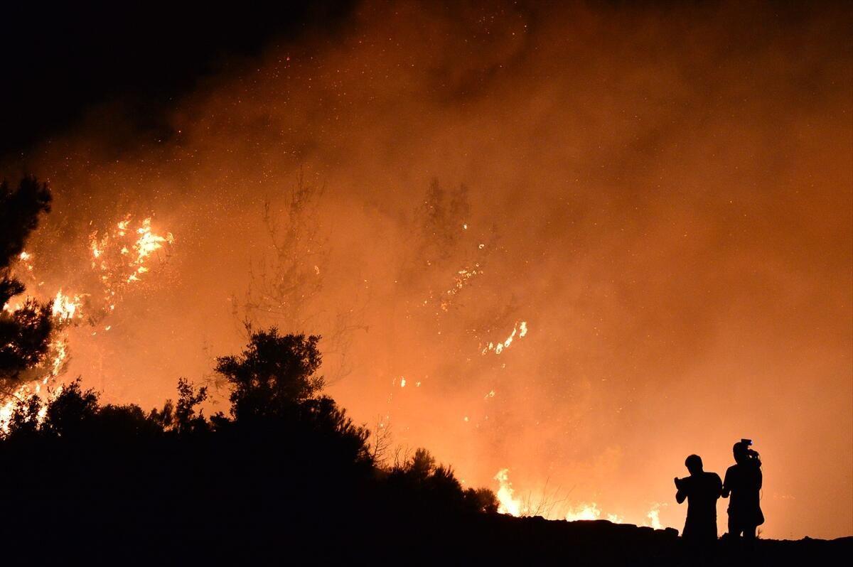 Gelibolu Yarımadası'nda yangın - Sayfa 1