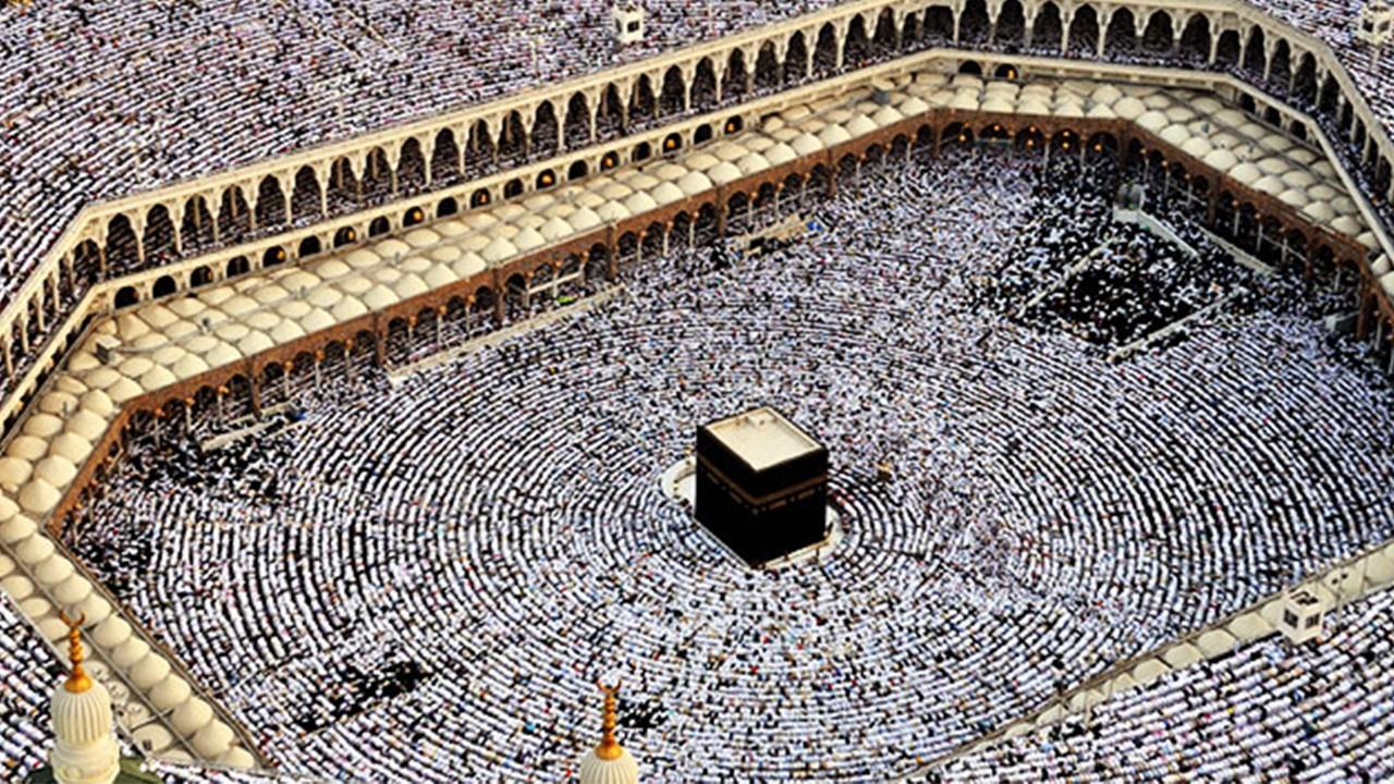 3 milyon Müslüman, hacı oldu