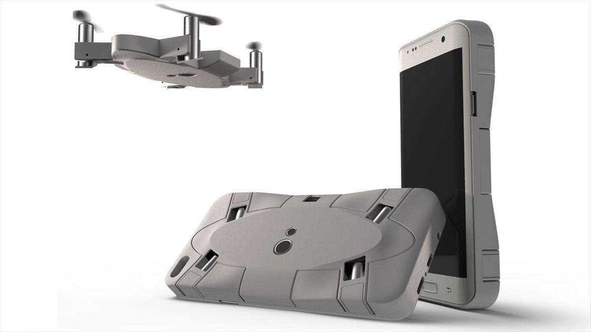 Dünyada bir ilk!..  Hem cep telefonu kılıfı hem drone! - Sayfa 2