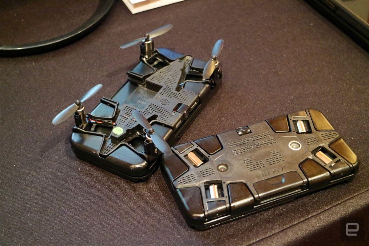 Dünyada bir ilk!..  Hem cep telefonu kılıfı hem drone! - Sayfa 3