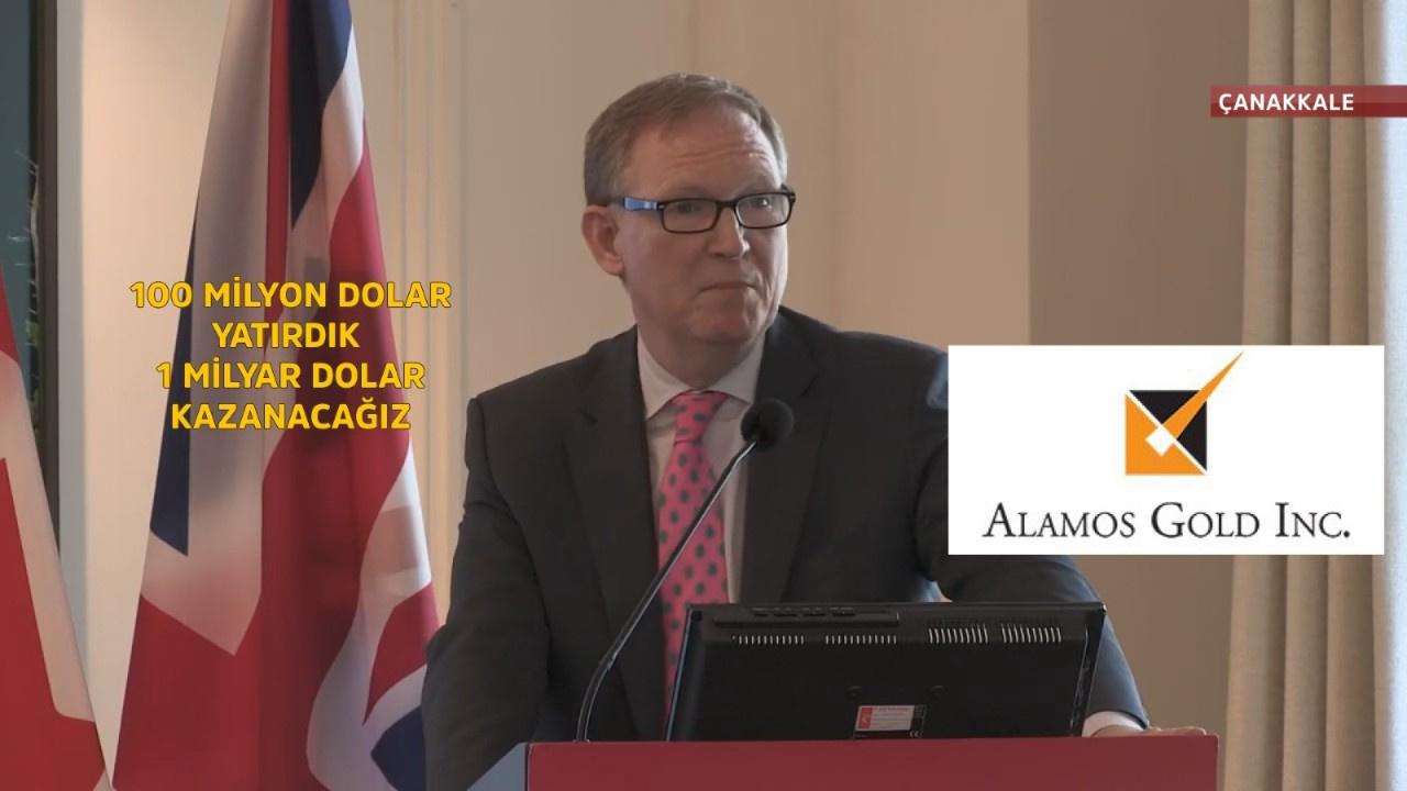 Alamos Gold şirketi Kaz dağlarından ne kadar kazanacak? CEO'nun açıklaması infial yarattı