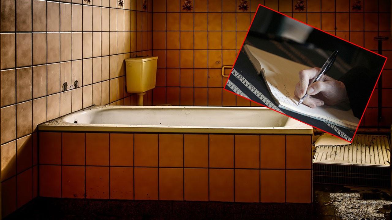 Evinin banyosunda ölü bulundu!.. Bırakılan notu okuyunca kanınız donacak!