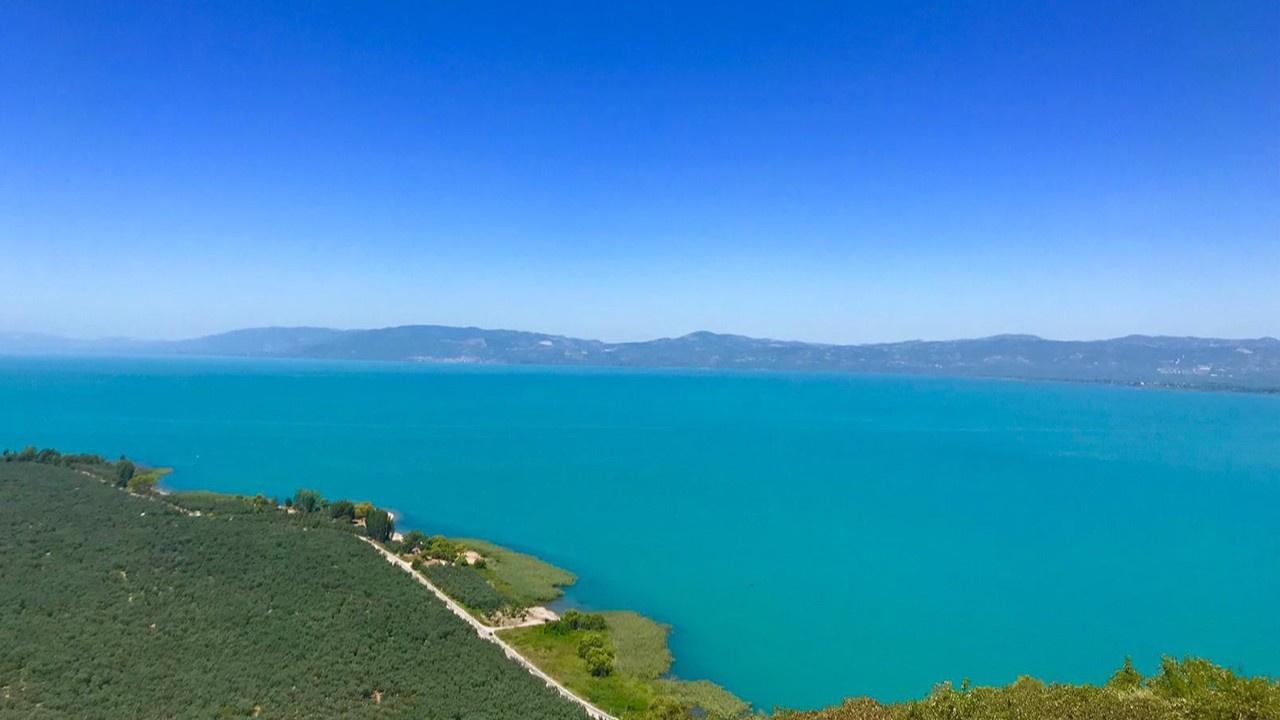 İznik Gölü neden turkuaz renge büründü?