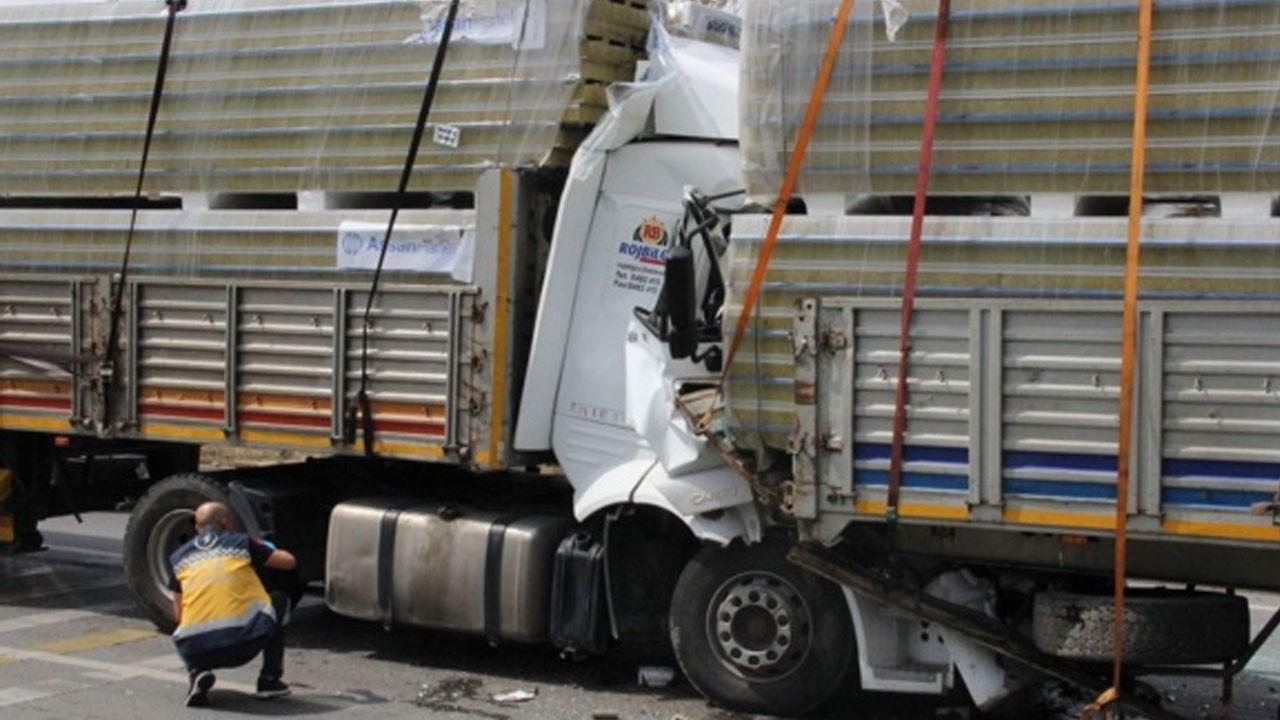Eskişehir'de zincirleme trafik kazası: 2 yaralı