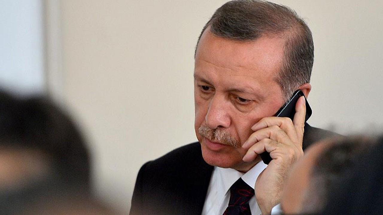 Cumhurbaşkanı Erdoğan'dan Emine Bulut'un babasına taziye telefonu
