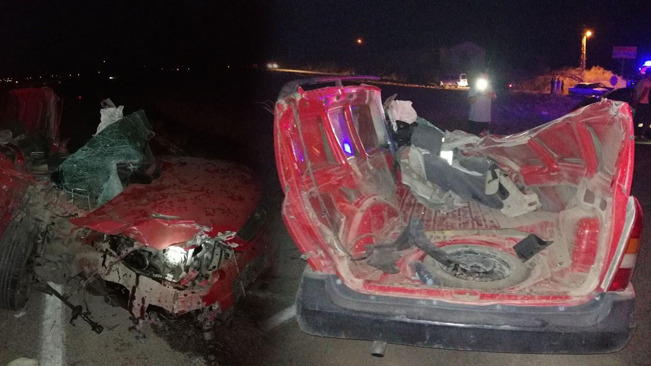 Kahramanmaraş'ta korkunç kaza!..  Ölü ve yaralılar var!