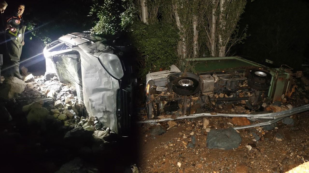 Sivas'ta HES felaketi!.. Araçlar suya kapıldı, yaralılar var!