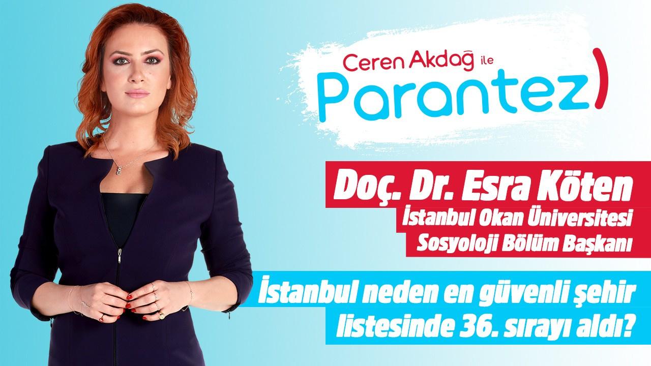 Parantez l  3 Eylül 2019 l Doç. Dr. Esra Köten