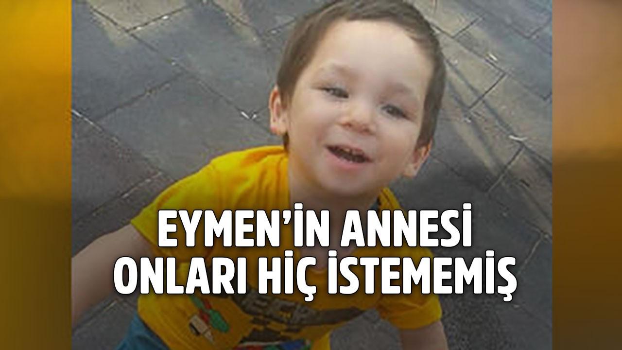 Minik Eymen cinayetinden bir dram daha çıktı!