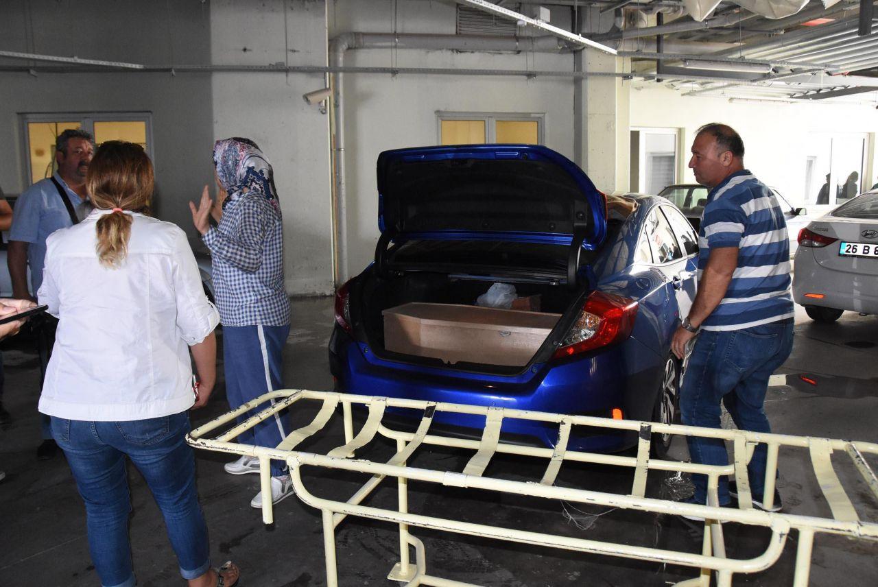 Minik Eymen'in cenazesi otomobil bagajında getirildi - Sayfa 2