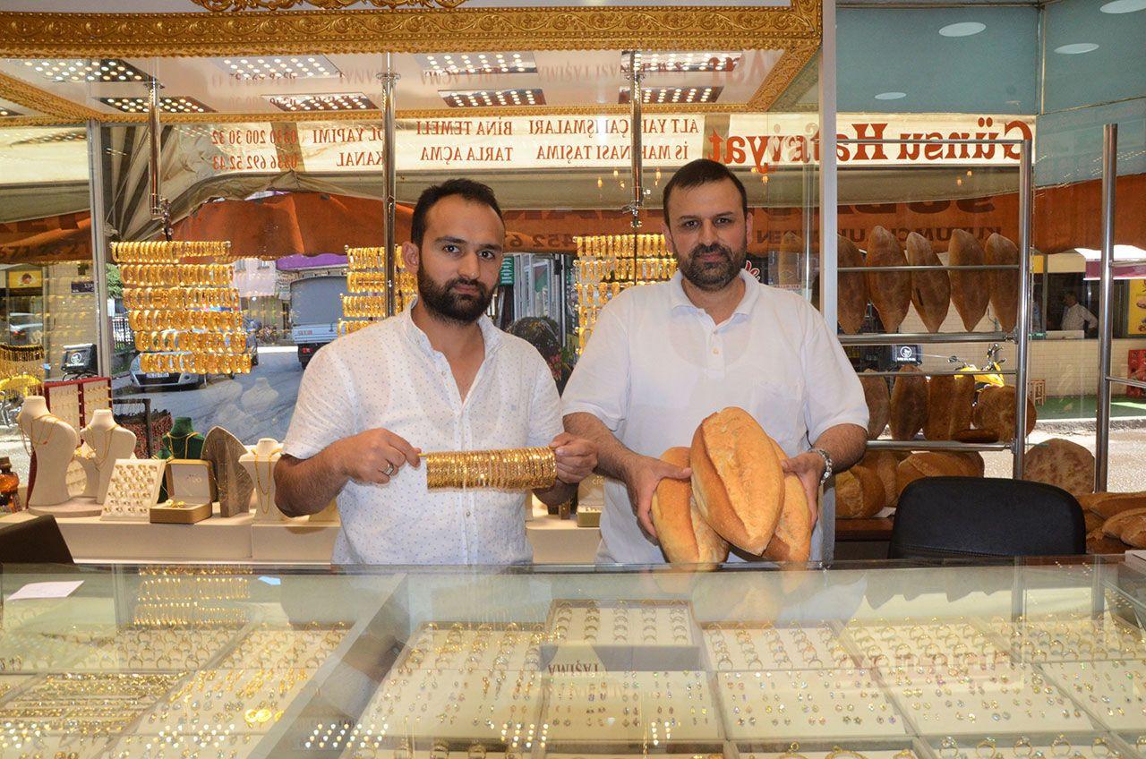 Bir tarafta ekmek, bir tarafta altın satıyor - Sayfa 2