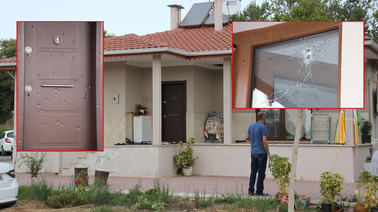 Belediye başkanının evine pompalı saldırı!