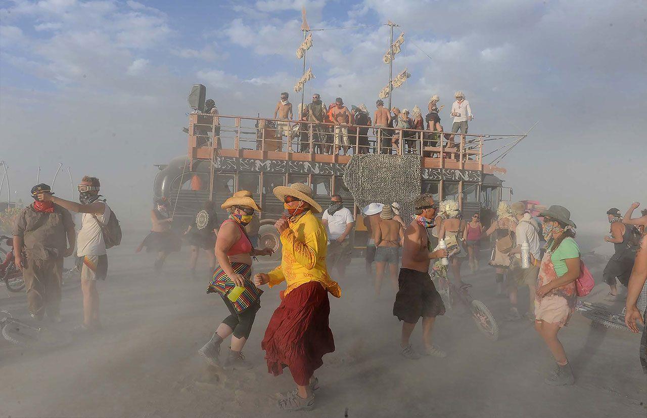 'Burning Man'in gizemli çadırı - Sayfa 2