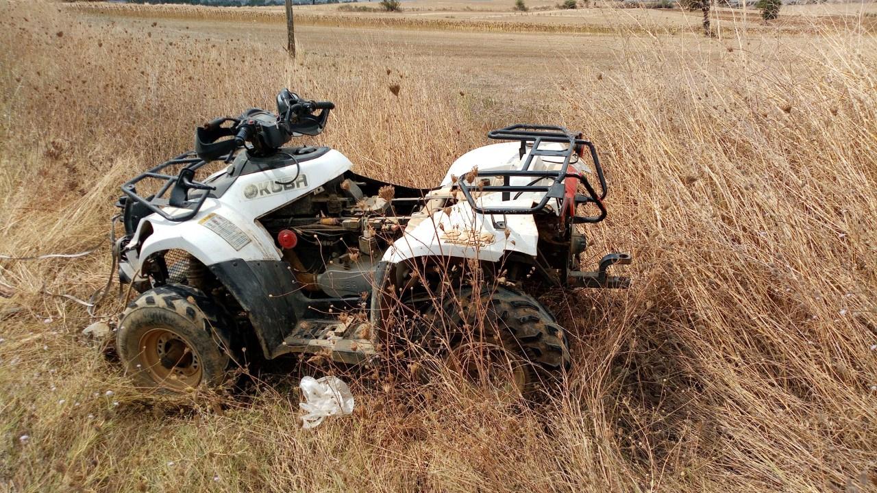 ATV aracının altında kalarak hayatını kaybetti