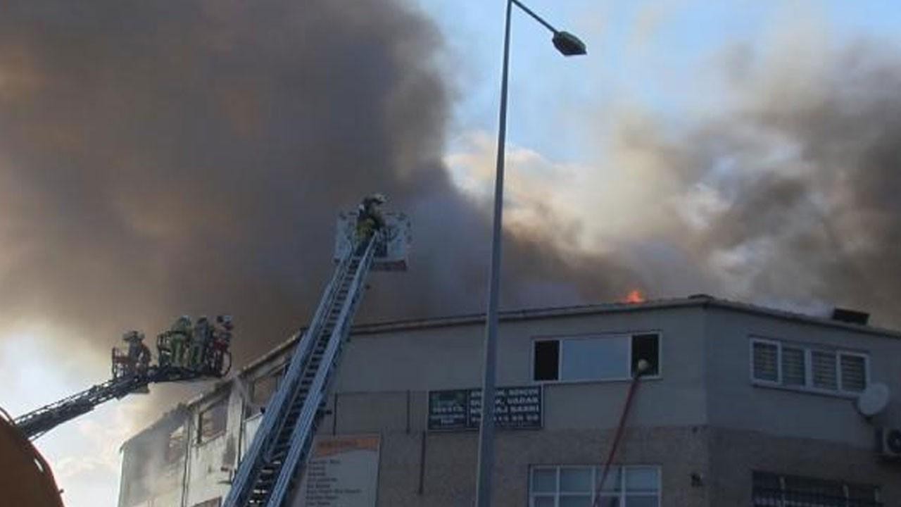 Zeytinburnu'nda yangın! Çok sayıda ekip sevk edildi