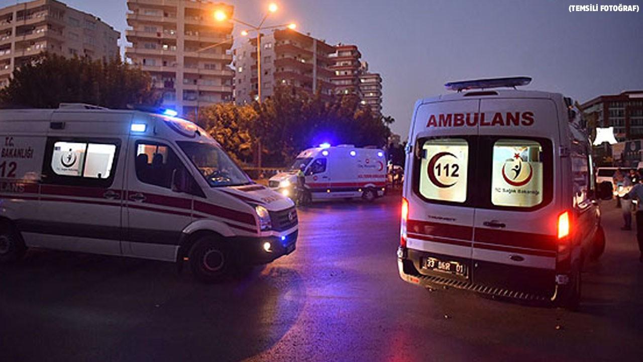 Akıllara durgunluk veren olayın adresi Mersin...  Hasta getiren ambulansı kaçırdı!