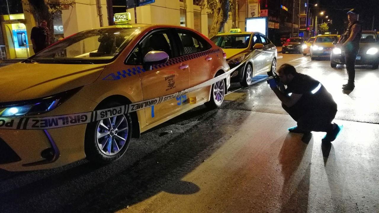 İstanbul'da taksiye silahlı saldırı!