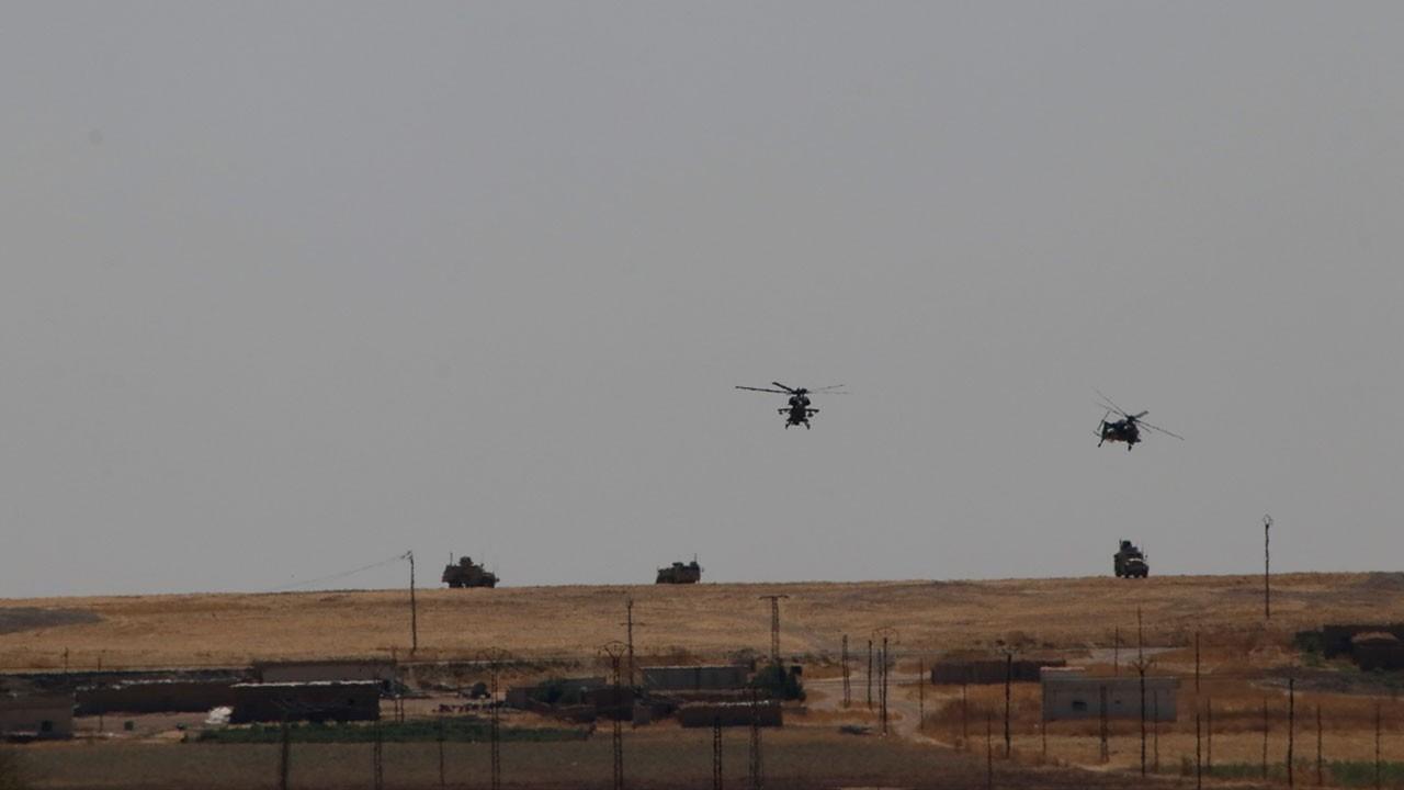 Suriye'de ABD ile ilk ortak kara devriyesi tamamlandı