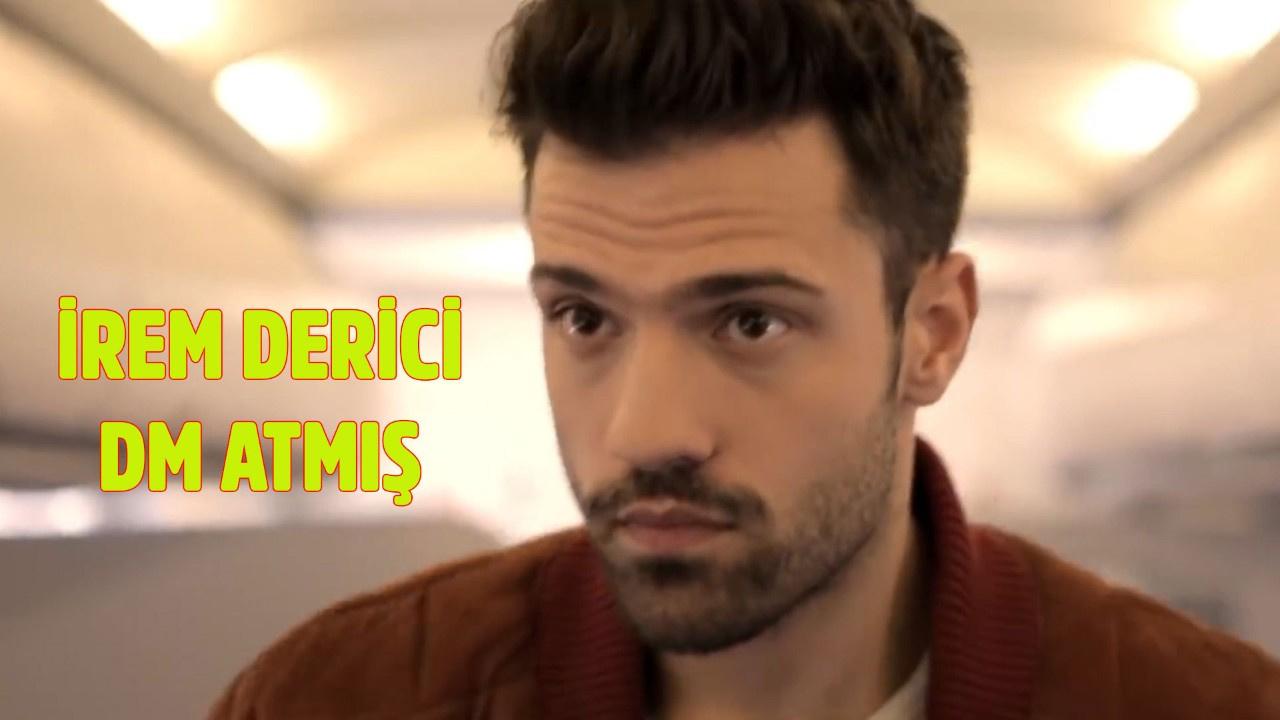 İrem Derici, Yunan şarkıcıya DM atmış