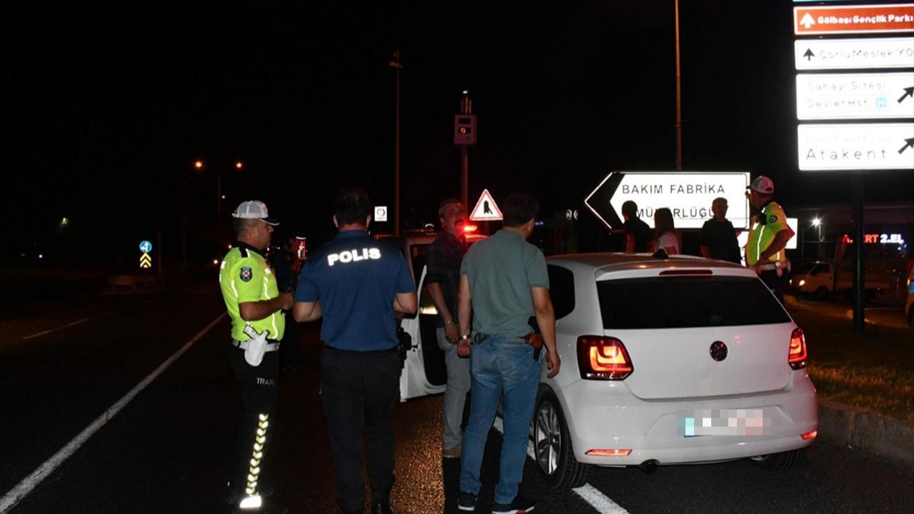 İstanbul'da polisten kaçan alkollü sürücü Çorlu'da yakalandı