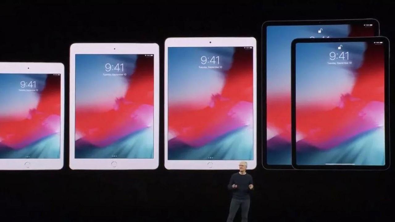 Apple'ın yeni iPad'i 10,2 inç