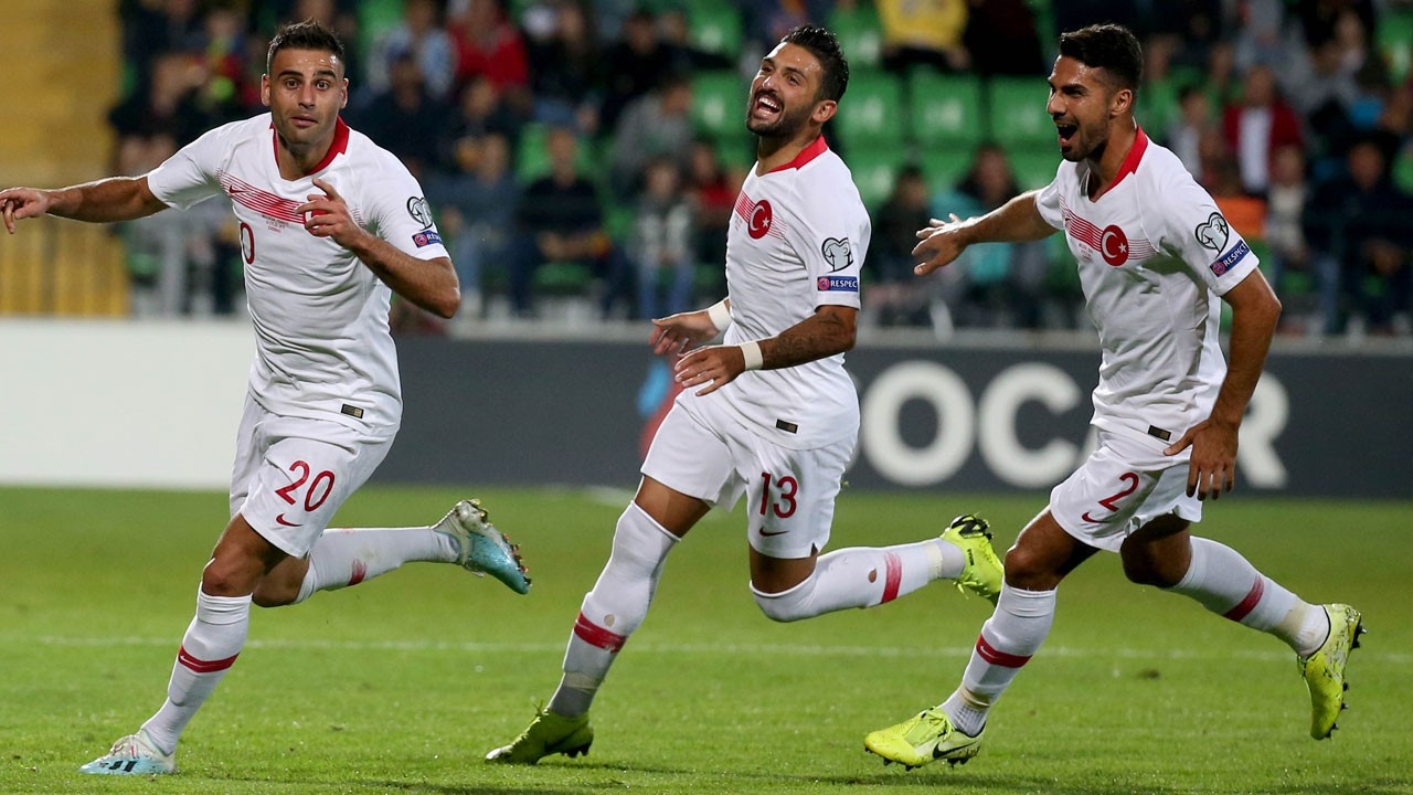 Moldova - Türkiye: 0-4 maç sonucu