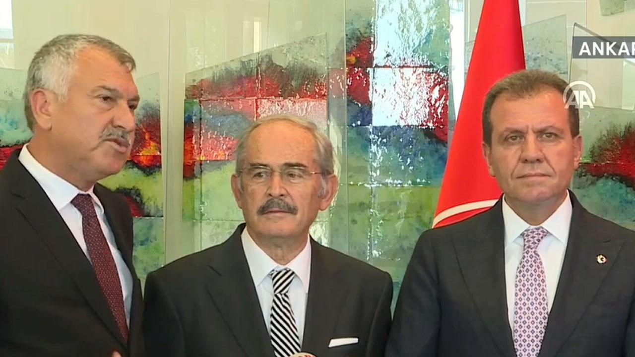CHP'li belediye başkanları: Gergin hava bittiği için memnun olduk