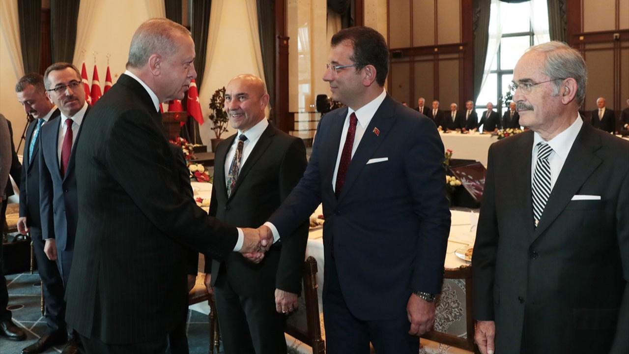 Büyükşehir Belediye Başkanları Külliye'de...
