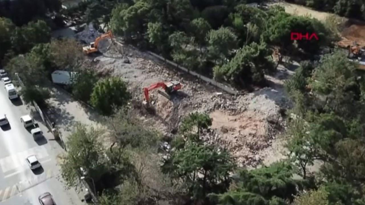 108 yıllık Erenköy Kız Lisesi binası yıkıldı!