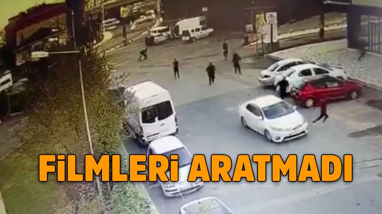 Polis-hırsız kovalamacası kamerada