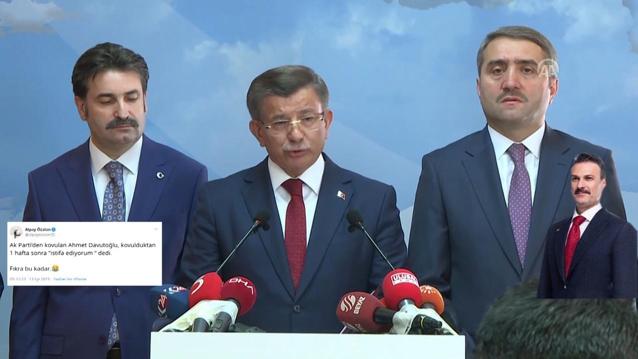 Alpay Özalan'dan Ahmet Davutoğlu yorumu: Fıkra bu kadar