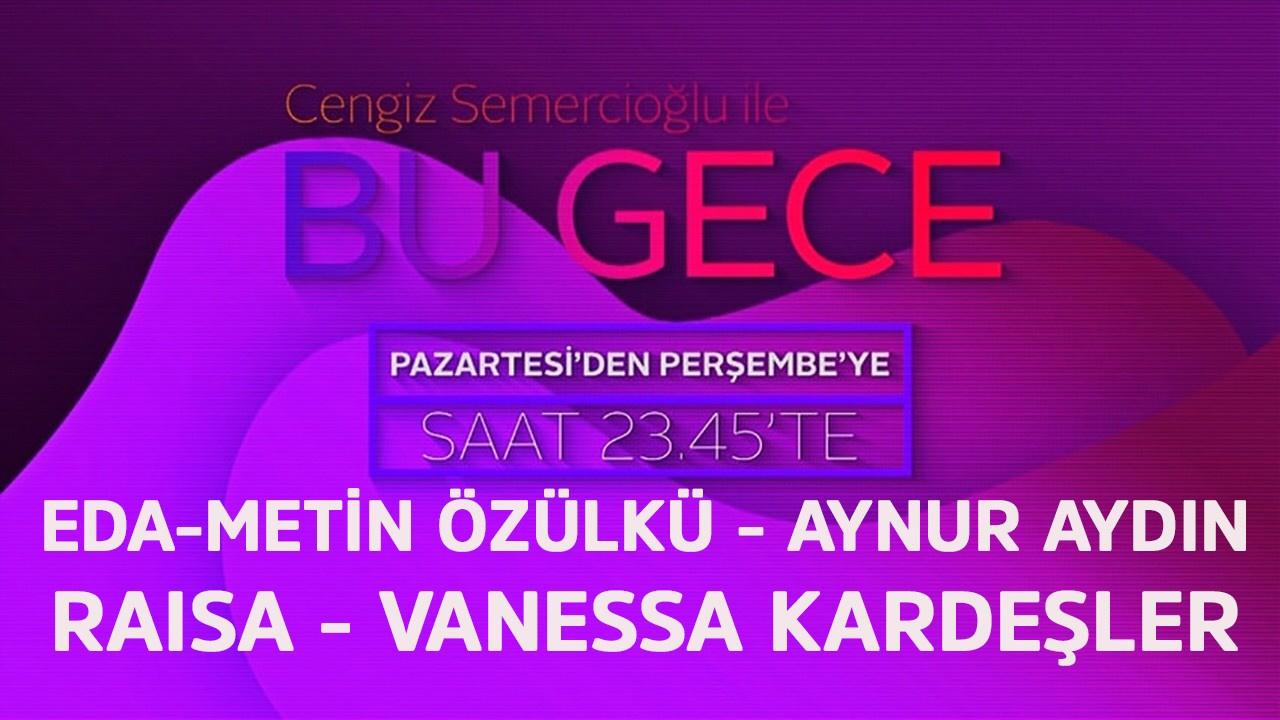Cengiz Semercioglu ile Bu Gece - 12.09.2019