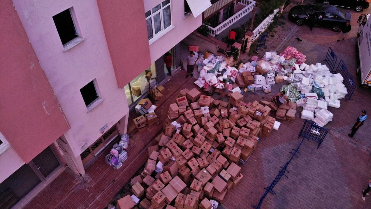 Maltepe'de panik anları! Bir bina boşaltıldı