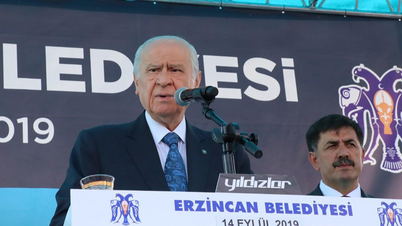 Bahçeli: HDP demek PKK demektir