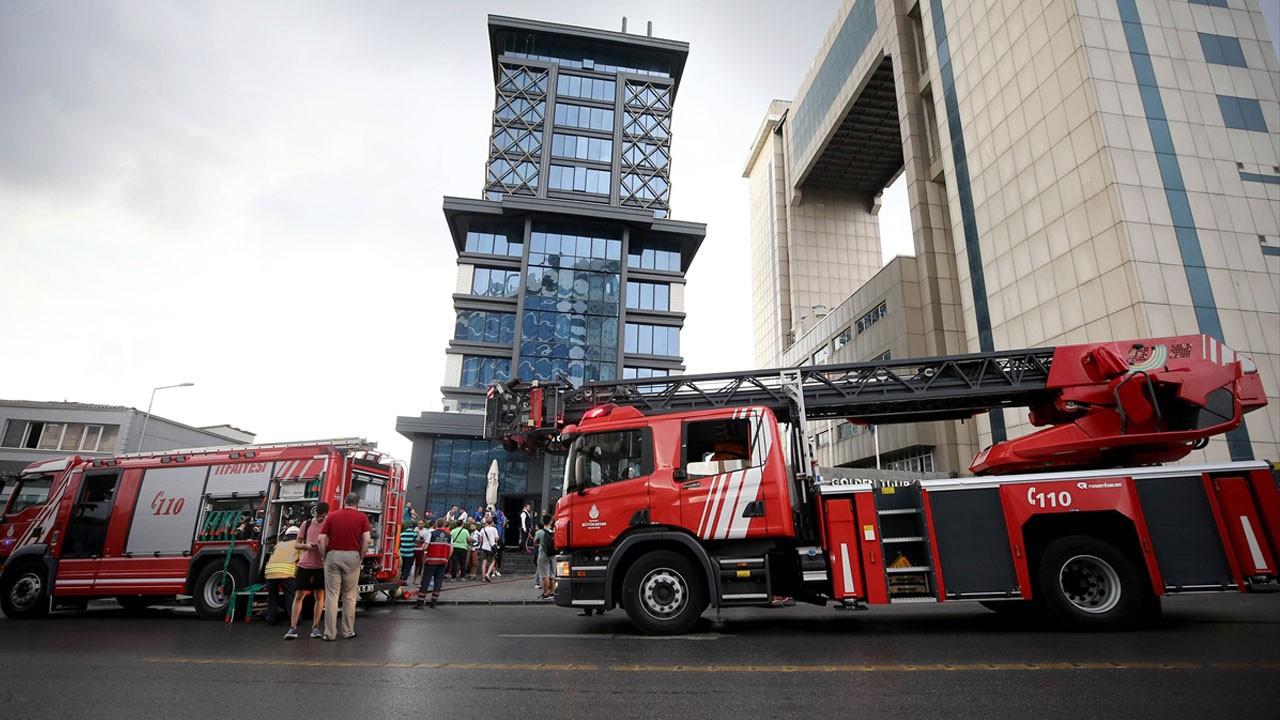 İstanbul'da korkutan otel yangını!