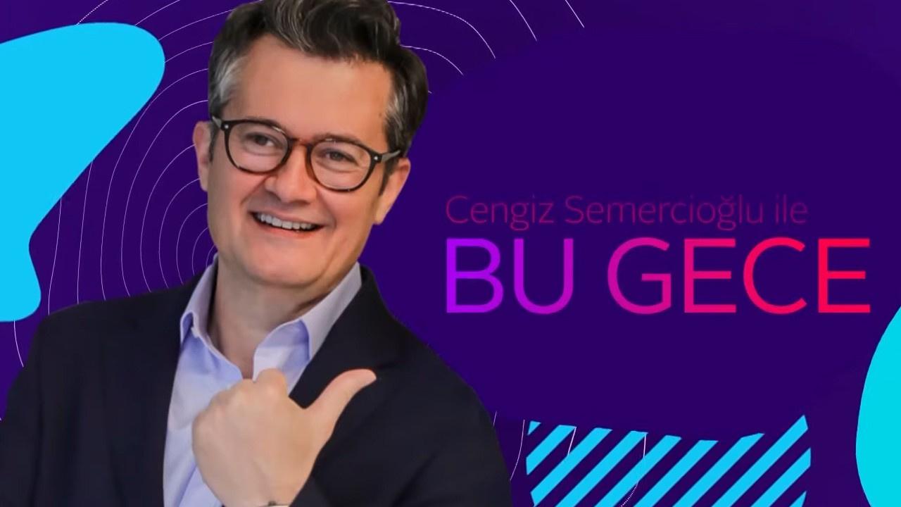 Cengiz Semercioğlu ile Bu Gece l 16 Eylül 2019