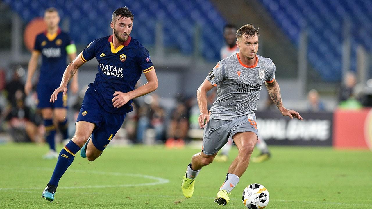 Roma - Başakşehir: 4-0 maç sonucu